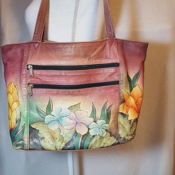 Anuschka Handbags - Anuschka, Hand painted Handbag 1269d7b6d6